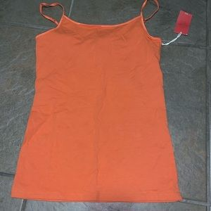 Mossimo orange tank